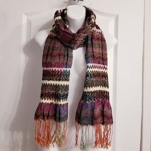 Accessories - Beautiful ruched stitching scarf